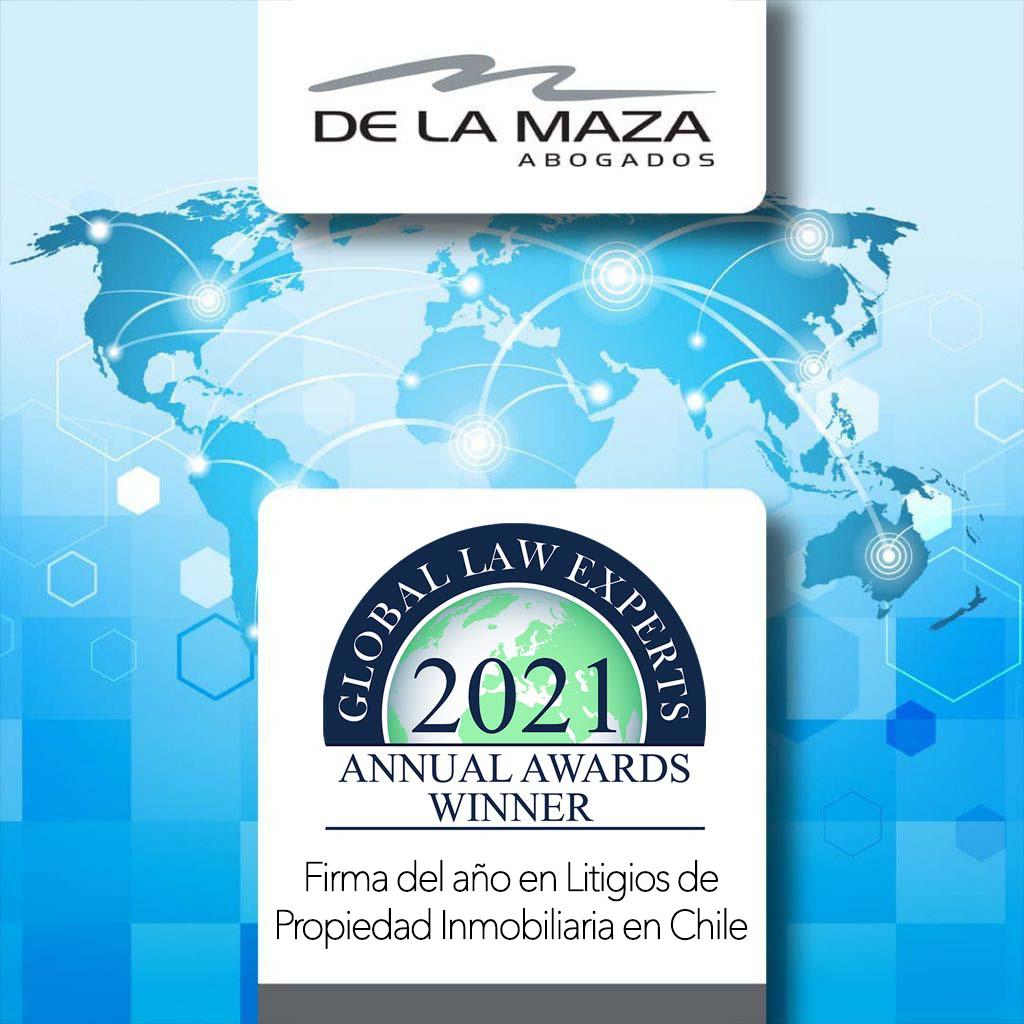 De La Maza Abogados 2020 Annual Awards Winner